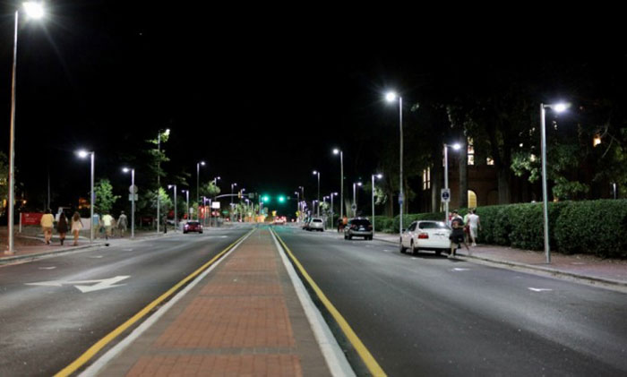 South America  LED Street Light