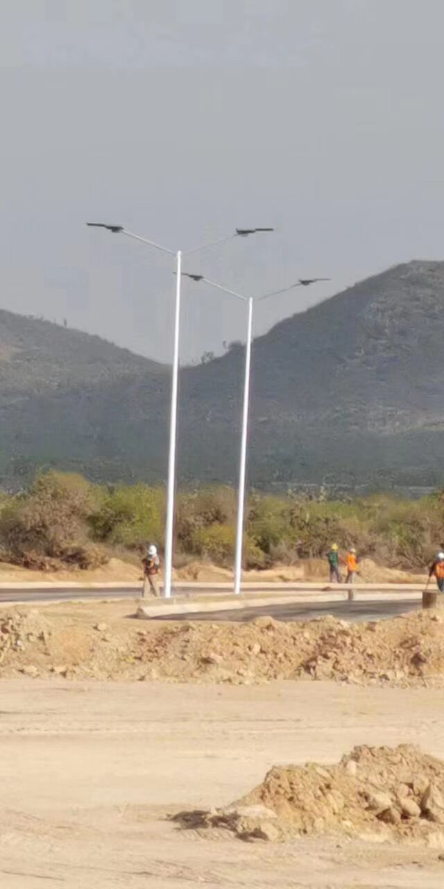 SH14 solar led street light in México