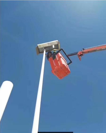 México Intergrated Solar LED Street Light