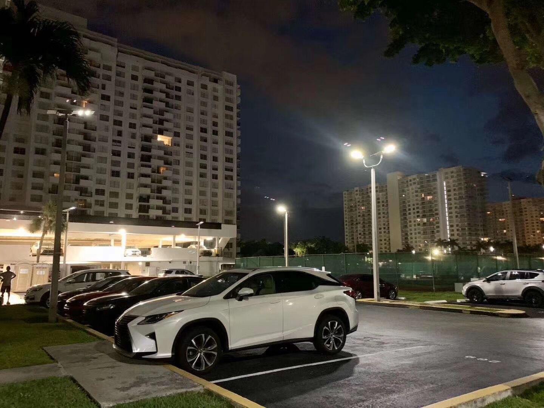 US Intergrated LED Street Light